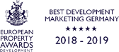 European Property Awards: Best Development Marketing Germany 2018-2019